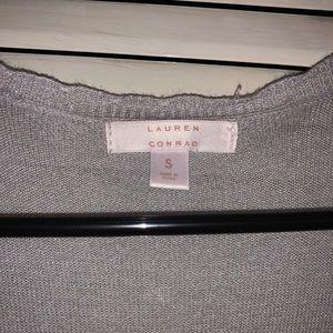 LC Lauren Conrad Sweaters - Gray Lauren Conrad Cardigan